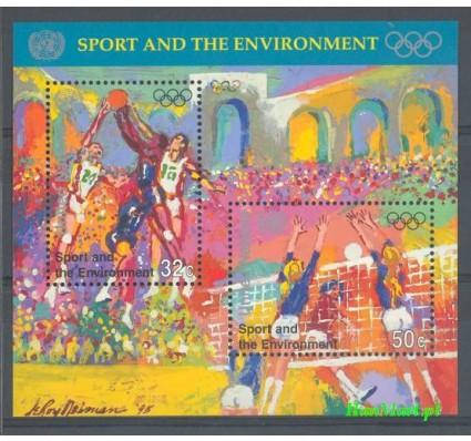 Znaczek Narody Zjednoczone Nowy Jork 1996 Mi bl 13 Czyste **