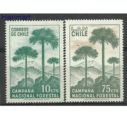 Chile 1967 Mi 663-664 Czyste **