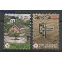 Słowenia 2005 Mi 39-40 Czyste **
