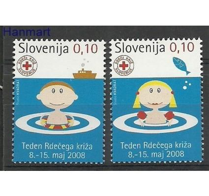 Znaczek Słowenia 2008 Mi 53-54 Czyste **