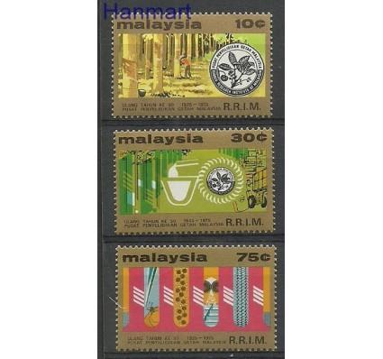 Znaczek Malezja 1975 Mi 140-142 Czyste **