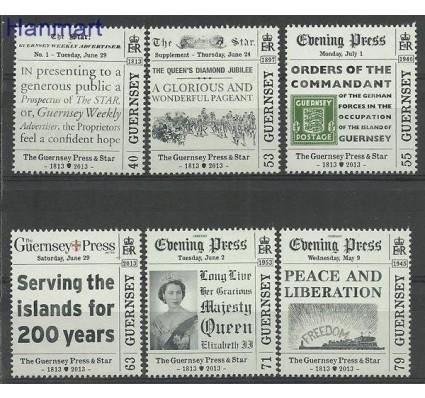 Znaczek Guernsey 2013 Mi 1429-1434 Czyste **
