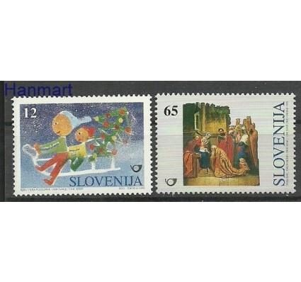 Znaczek Słowenia 1996 Mi 171-172 Czyste **
