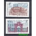 Luksemburg 1981 Mi 1029-1030 Czyste **