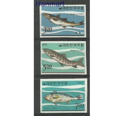 Znaczek Korea Południowa 1966 Mi 534-536B Czyste **