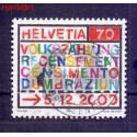 Szwajcaria 2000 Stemplowane