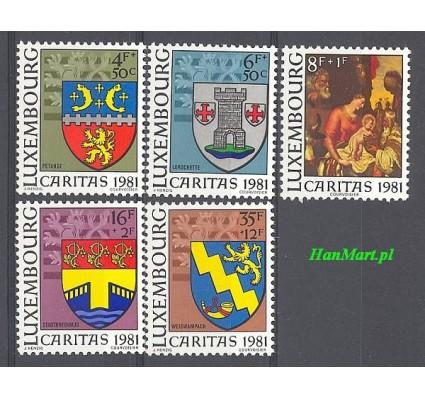Znaczek Luksemburg 1981 Mi 1041-1045 Czyste **