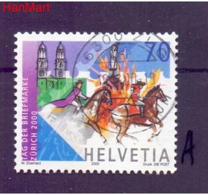 Znaczek Szwajcaria 2000 Stemplowane