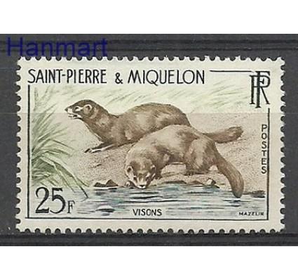 Znaczek Saint-Pierre i Miquelon 1959 Mi 391 Czyste **