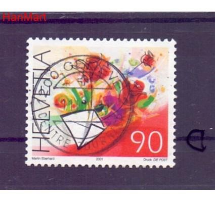 Znaczek Szwajcaria 2001 Stemplowane