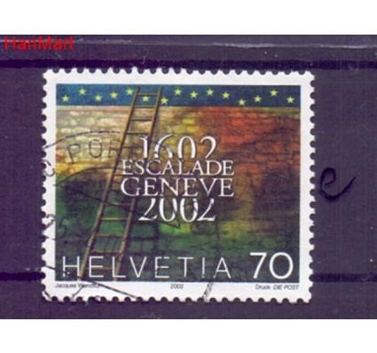 Znaczek Szwajcaria 2002 Stemplowane