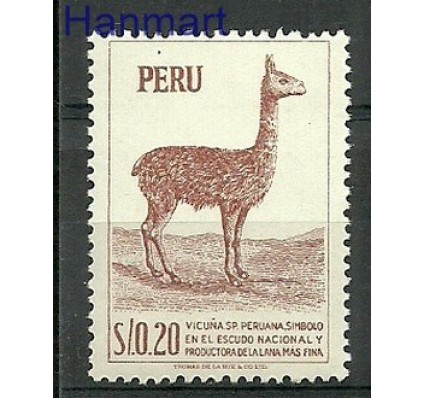 Znaczek Peru 1952 Mi 521 Czyste **