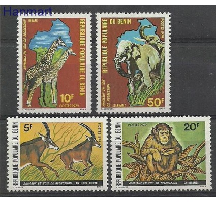 Znaczek Benin 1979 Mi 191-194 Czyste **