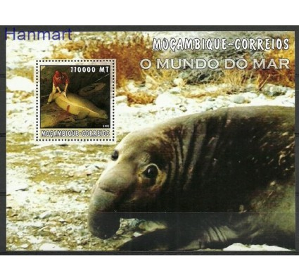 Znaczek Mozambik 2002 Mi bl 188 Czyste **