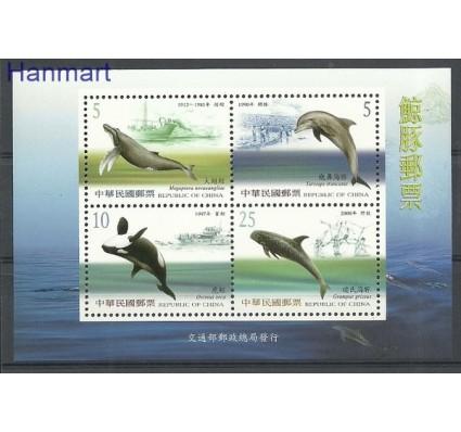 Znaczek Tajwan 2002 Mi bl 93 Czyste **