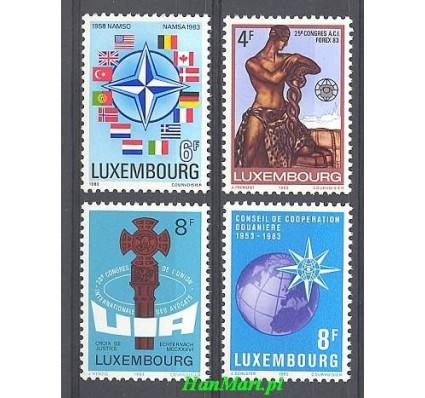 Znaczek Luksemburg 1983 Mi 1070-1073 Czyste **