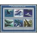 Mozambik 2002 Mi 2680-2685 Czyste **