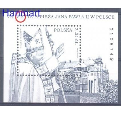 Znaczek Polska 2002 Mi bl 151 Fi bl 180  Czyste **