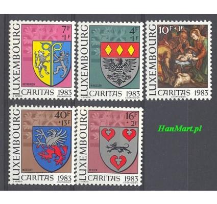 Znaczek Luksemburg 1983 Mi 1086-1090 Czyste **