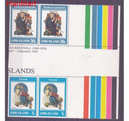 Znaczek Wyspy Cooka  Mi 662 Czyste **