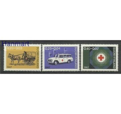 Znaczek Finlandia 1967 Mi 630-632 Czyste **
