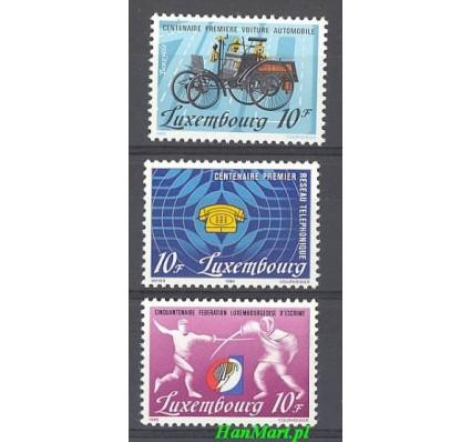 Znaczek Luksemburg 1985 Mi 1121-1123 Czyste **