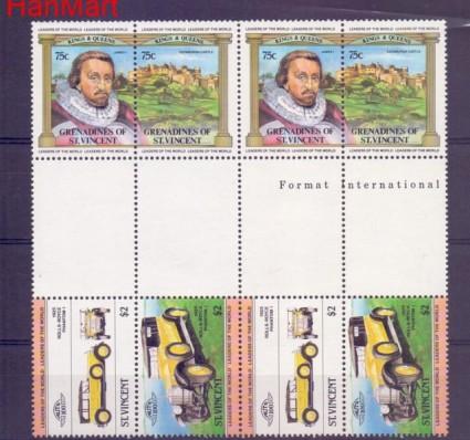 Znaczek Grenadines of St Vincent  Mi 674 Czyste **