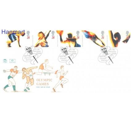 Znaczek Wielka Brytania 1996 Mi 1642-1646 FDC