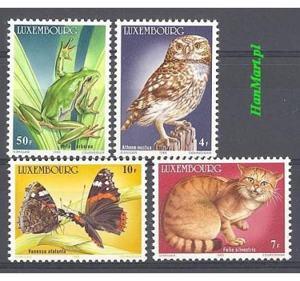 Luksemburg 1985 Mi 1133-1136 Czyste **