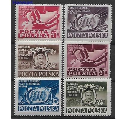 Znaczek Polska 1948 Mi 505-510 Fi 479-481, 482-484 Czyste **