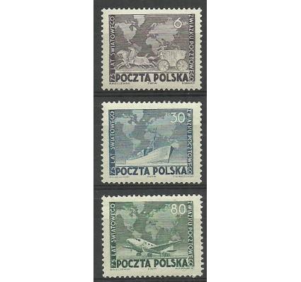 Znaczek Polska 1949 Mi 533-535 Fi 498-500 Czyste **