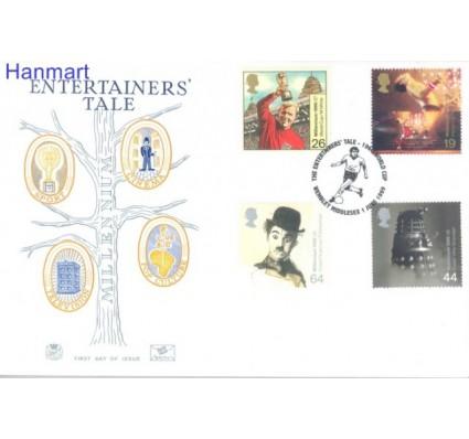 Znaczek Wielka Brytania 1999 Mi 1809-1812 FDC