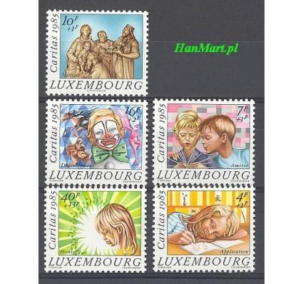 Znaczek Luksemburg 1985 Mi 1138-1142 Czyste **