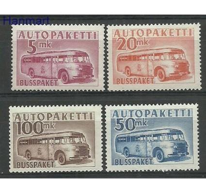 Znaczek Finlandia 1952 Mi aut 6-9 Czyste **