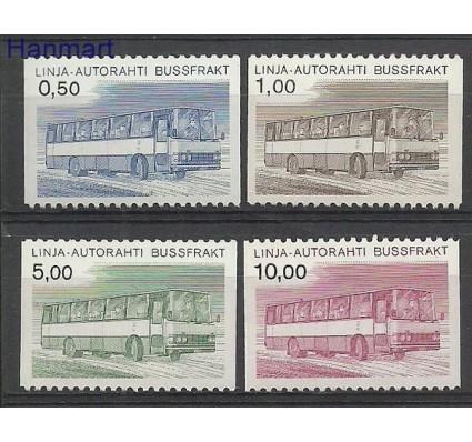 Znaczek Finlandia 1981 Mi aut 14-17 Czyste **