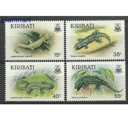 Znaczek Kiribati 1986 Mi 480-483 Czyste **
