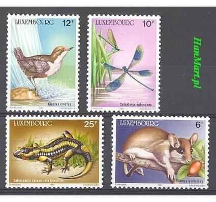 Luksemburg 1987 Mi 1168-1171 Czyste **