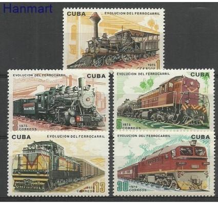 Znaczek Kuba 1975 Mi 2085-2089 Czyste **