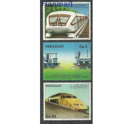 Znaczek Paragwaj 1985 Mi 3870-3872 Czyste **