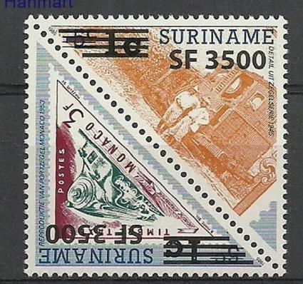 Znaczek Surinam 2003 Mi 1888-1889 Czyste **