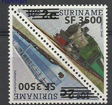 Znaczek Surinam 2003 Mi 1892-1893 Czyste **