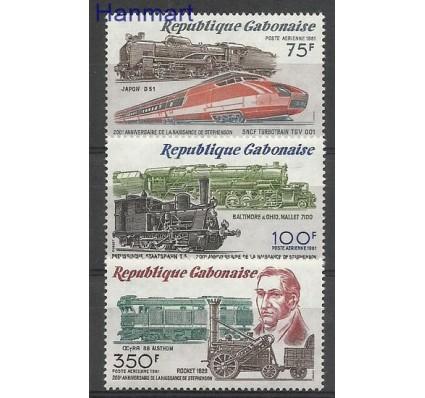Znaczek Gabon 1981 Mi 777-779 Czyste **