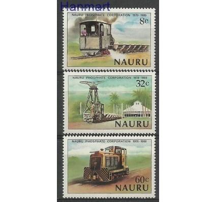 Znaczek Nauru 1980 Mi 211-213 Czyste **