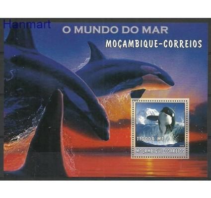 Znaczek Mozambik 2002 Mi bl 186 Czyste **