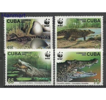 Znaczek Kuba 2003 Mi 4553-4556 Czyste **
