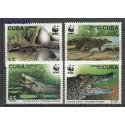Kuba 2003 Mi 4553-4556 Czyste **