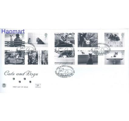 Znaczek Wielka Brytania 2001 Mi 1914-1923 FDC