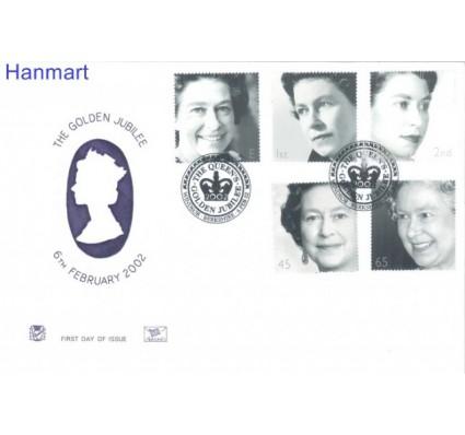 Znaczek Wielka Brytania 2002 Mi 1981-1985 FDC