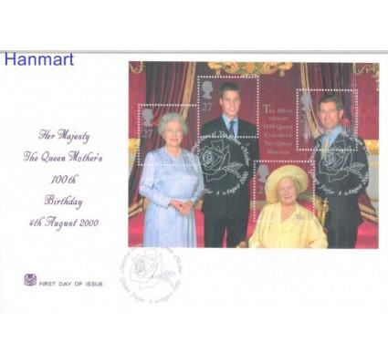 Znaczek Wielka Brytania 2000 Mi bl 9 FDC