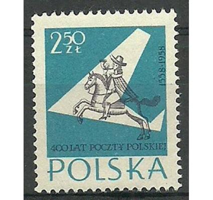 Znaczek Polska 1958 Mi 1045 Fi 900 Czyste **